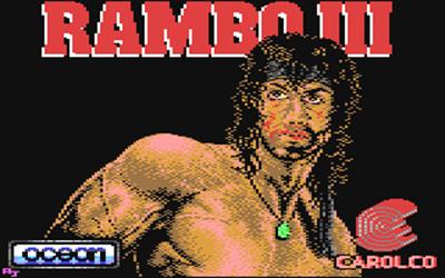 Rambo III - Screenshot - Game Title