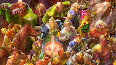 Capcom Beat 'Em Up Bundle - Fanart - Background