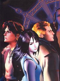 Final Fantasy VIII - Advertisement Flyer - Front