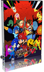 Super Smash Flash 2 - Box - 3D