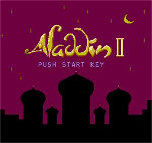 Aladdin II - Screenshot - Game Title
