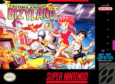 Cacoma Knight in Bizyland - Box - Front