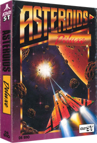 Asteroids Deluxe - Box - 3D