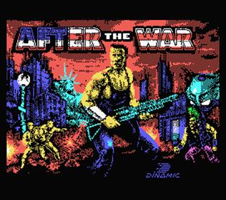 After the War - Screenshot - Game Title