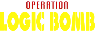Operation Logic Bomb: The Ultimate Search & Destroy - Clear Logo