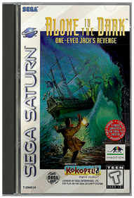 Alone in the Dark: One-Eyed Jack's Revenge - Box - Front - Reconstructed