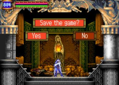 Castlevania: Aria of Sorrow - Screenshot - Gameplay
