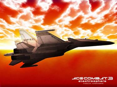 Ace Combat 3: Electrosphere - Fanart - Background
