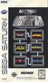 Arcade's Greatest Hits: Williams