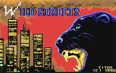 Wild Streets - Screenshot - Game Title