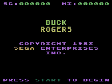 Buck Rogers: Planet of Zoom - Screenshot - Game Title