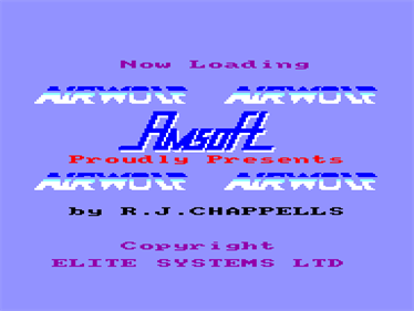 Airwolf - Screenshot - Game Title