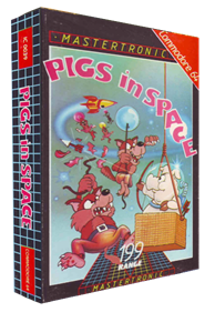 Pigs in Space - Box - 3D
