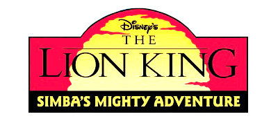 Disney's The Lion King: Simba's Mighty Adventure - Clear Logo