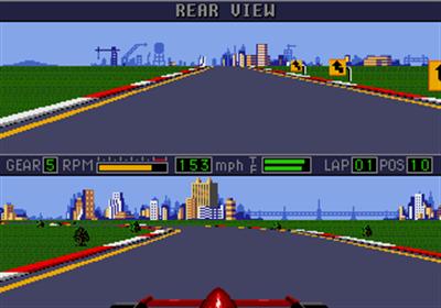 Mario Andretti Racing - Screenshot - Gameplay