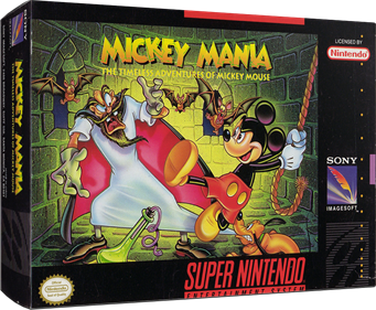 Mickey Mania: The Timeless Adventures of Mickey Mouse - Box - 3D