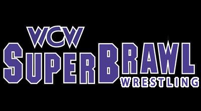 WCW SuperBrawl Wrestling - Clear Logo