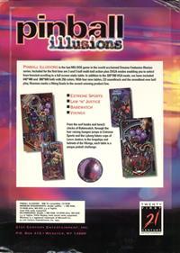 Pinball Illusions - Box - Back