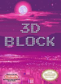 3D Block - Fanart - Box - Front