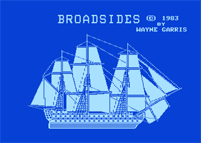 Broadsides - Screenshot - Game Title