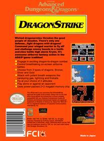 DragonStrike - Box - Back