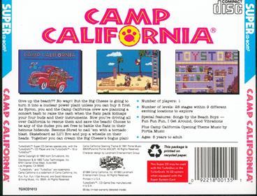 Camp California - Box - Back