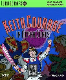 Keith Courage in Alpha Zones - Box - Front