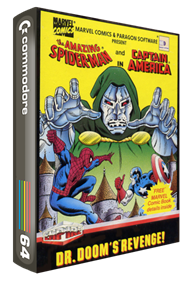 The Amazing Spider-Man and Captain America in Dr. Doom's Revenge! - Box - 3D