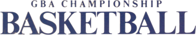 GBA Championship Basketball: Two-on-Two - Clear Logo