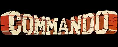 Commando - Clear Logo