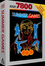 Summer Games - Box - 3D