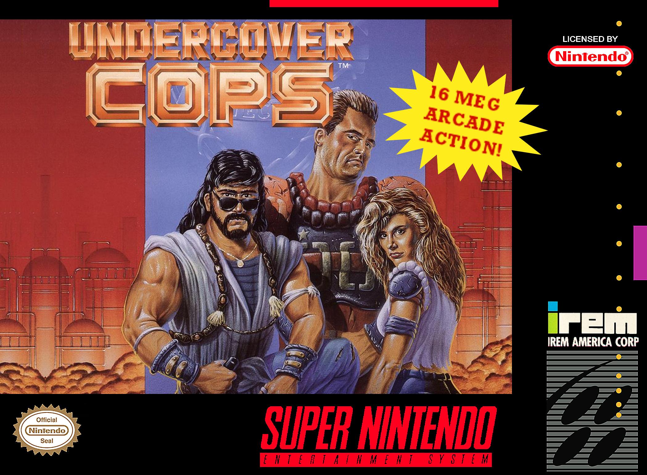 Undercover Cops Details - LaunchBox Games Database