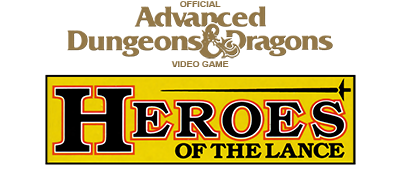 Heroes of the Lance - Clear Logo