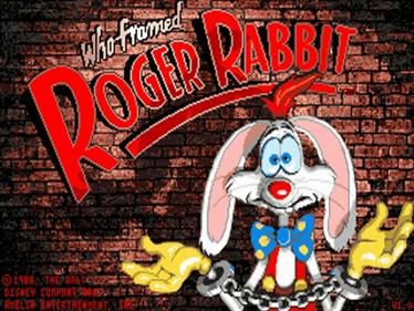 Who Framed Roger Rabbit - Screenshot - Game Title