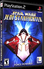 Star Wars: Jedi Starfighter - Box - 3D
