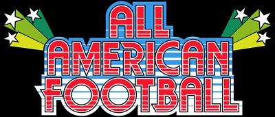 All American Football - Clear Logo