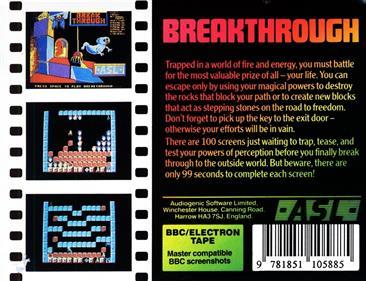 Breakthrough  - Box - Back