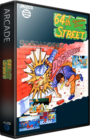 64th. Street: A Detective Story - Box - 3D