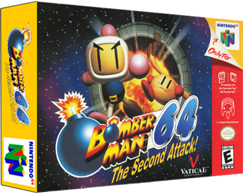 Bomberman 64: The Second Attack! - Box - 3D