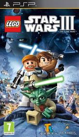 LEGO Star Wars III: The Clone Wars - Box - Front