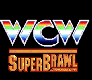 WCW SuperBrawl Wrestling - Screenshot - Game Title