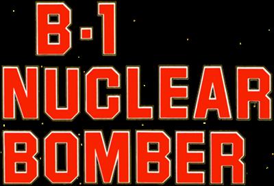 B-1 Nuclear Bomber - Clear Logo