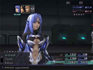 Xenosaga Episode III: Also Sprach Zarathustra - Screenshot - Gameplay