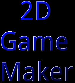 2D Game Maker - Clear Logo