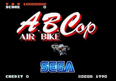 A.B.Cop: Air Bike - Screenshot - Game Title