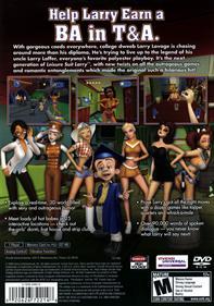 Leisure Suit Larry: Magna Cum Laude - Box - Back