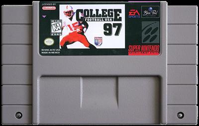 College Football USA 97 - Fanart - Cart - Front