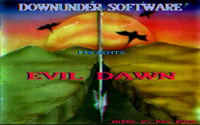 Evil Dawn - Screenshot - Game Title