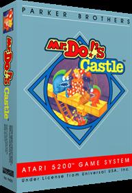 Mr. Do!'s Castle - Box - 3D