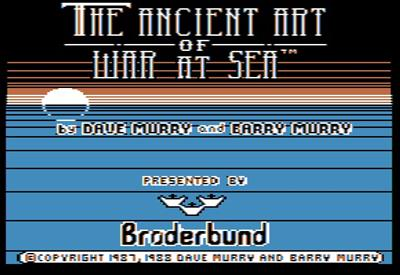 The Ancient Art of War at Sea - Screenshot - Game Title